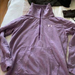 Gently worn UA zip up